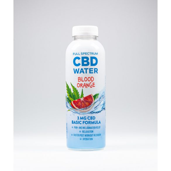 AIDVIAN Full Spektrum CBD víz 3 MG - vérnarancs 500 ML