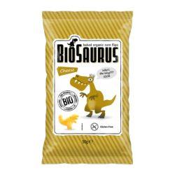 """Biopont Kukoricás Snack Sajtos """"BioSaurus Igor"""" Bio 50g"""