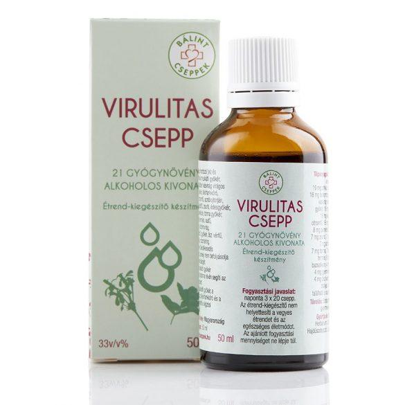 Bálint cseppek VIRULITAS csepp 50 ml