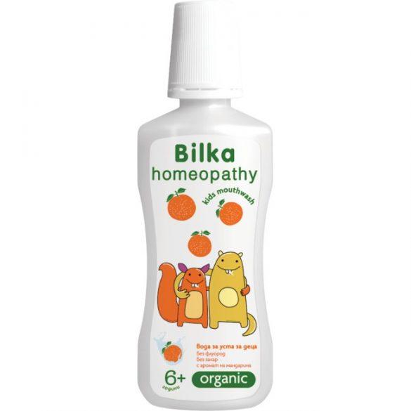 Bilka Bilka Organic 6+ gyermekszájvíz mandarin ízű 250 ml
