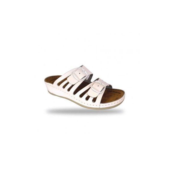 Fratelli Babb bio papucs - komfort papucs D71 Bianco