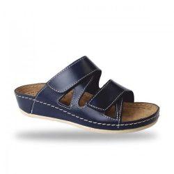 Fratelli Babb bio papucs - komfort papucs D76 Blu