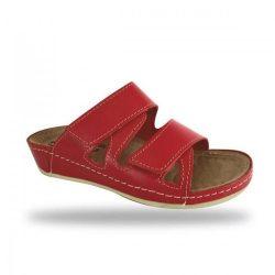 Fratelli Babb bio papucs - komfort papucs D76 Rosso