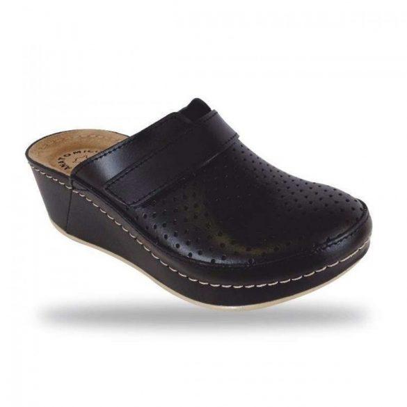 Fratelli Babb komfort papucs - divat papucs D130 Nero
