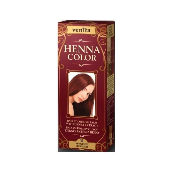Venita Henna Color hajszínező balzsam 11 Burgundi 75ml