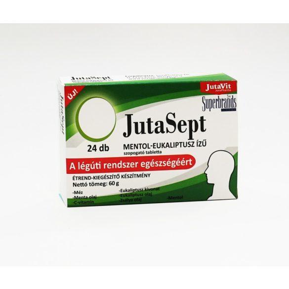 JutaVit JutaSept mentol-eukaliptusz ízű, 24x