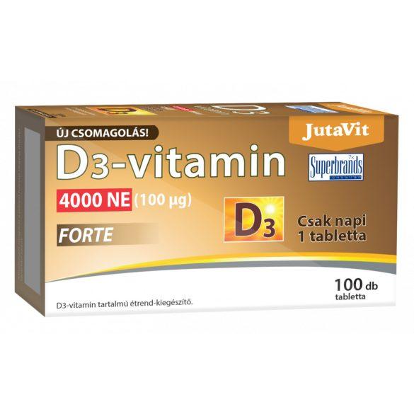 JutaVit D3-vitamin 4000NE (100μg) 100x