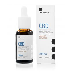USA Medical CBD olaj 3000mg 30 ml