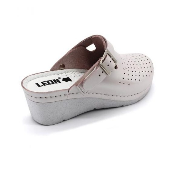 Leon 1000 Női bőr klumpa - perla