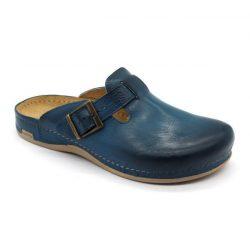 Leon 707 Férfi bőr papucs - kék