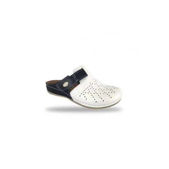 Fratelli Babb komfort papucs -  kényelmi klumpa D301 Bianco-Blu