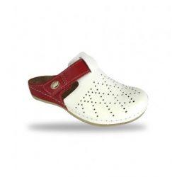 Fratelli Babb komfort papucs -  kényelmi klumpa D301 Bianco-Fuxia