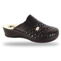DrMonteBosco női papucs - komfort papucs 204 Nero