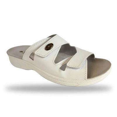 DrMonteBosco női papucs - 1406 Bianco női komfort papucs ... 61d30be501