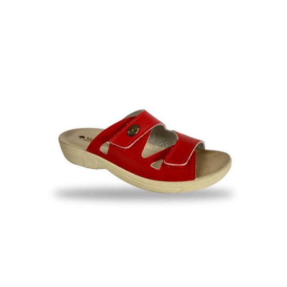 DrMonteBosco női komfort papucs - 1406 Rosso