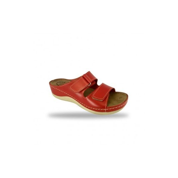 Fratelli Babb komfort papucs -  kényelmi papucs D303 Rosso