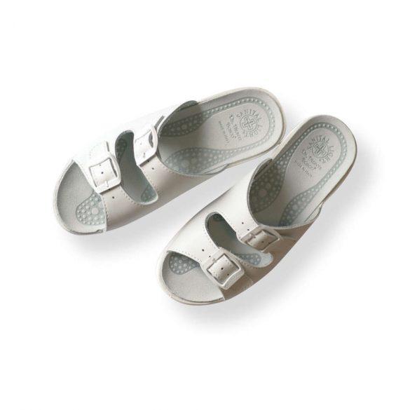 Santal Leight komfort papucs - munkapapucs 371 Bianco