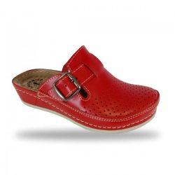 Fratelli Babb komfort papucs -  klumpa D134 Rosso