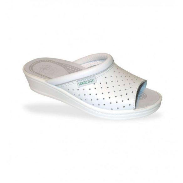 DrMonteBosco női papucs - komfort papucs 351 Bianco