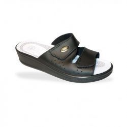 DrMonteBosco komfort papucs - gyógypapucs 375 Nero