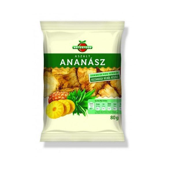 Naturfood Aszalt ananász 80g