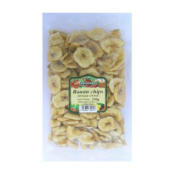 Naturfood Banán chips 200g