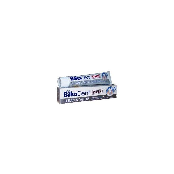 Bilkadent EXPERT Clean and White Fogkrém - fogfehérítő 75 ml