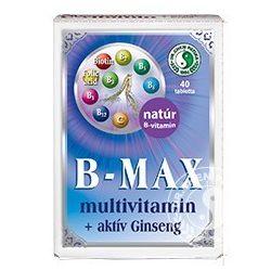 Dr.Chen B-Max Multivitamin és Aktív Ginseng tabletta 40 db