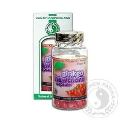 Dr.Chen Ginkgo Galagonya kapsz. C-vitaminnal