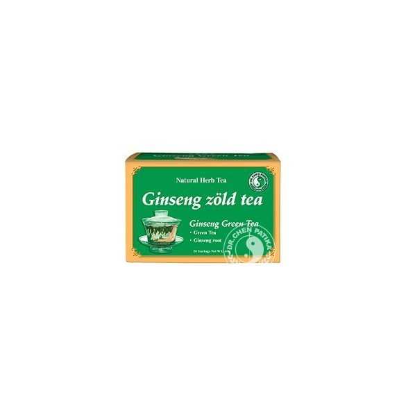 Dr.Chen Ginseng-zöld tea