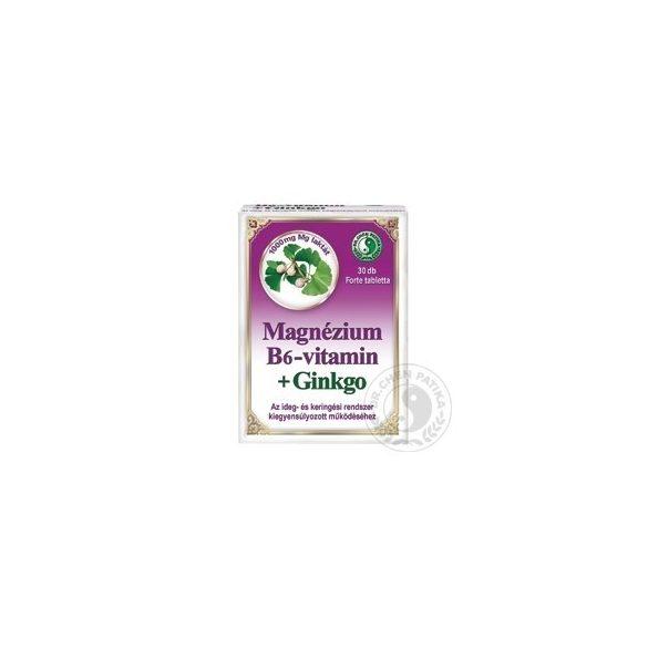 Dr.Chen Magnézium+B6+Ginkgo kapszula 30 db
