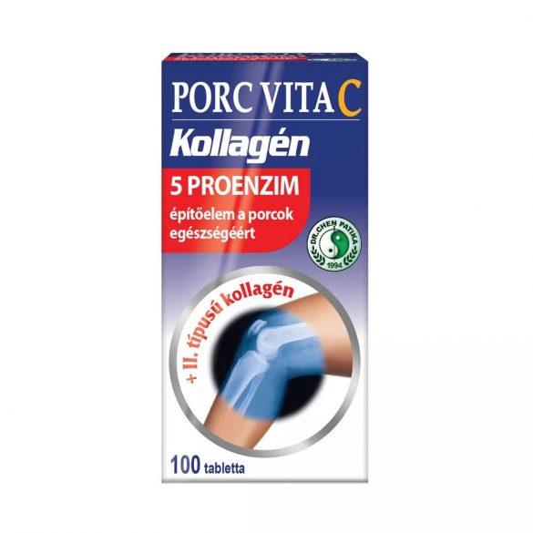 Dr.Chen Porc-VitaC 5proenzim tabletta 100db
