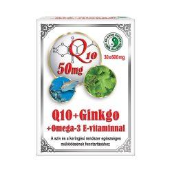 Dr.Chen Q10 + Ginkgo + Omega3 kapszula