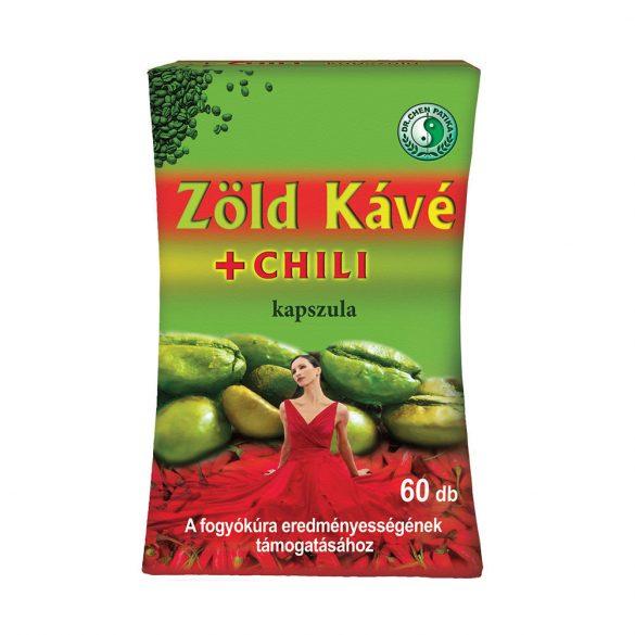 Dr.Chen Zöld kávé+Chili kapszula ÚJ