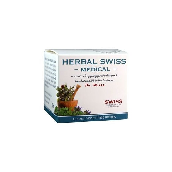 Herbal Swiss balzsam 75 ml