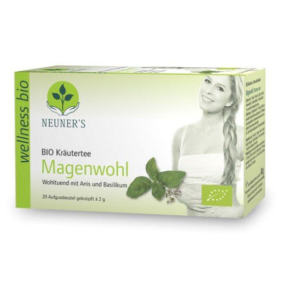 Neuner's Wellness Bio Könnyű Gyomor tea 20db
