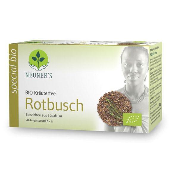 Neuner's Special Bio Dél-Afrikai Rooibos tea (Bio Vörös tea) 20db