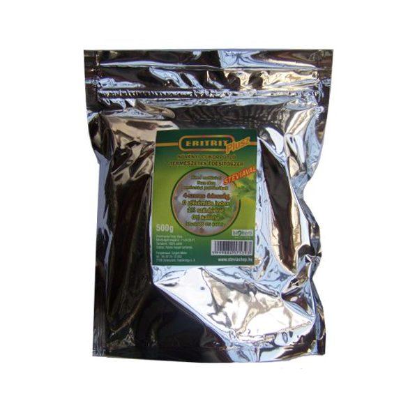 Eritrit Plusz -  steviával, 4-szeres édesség 0,5 kg