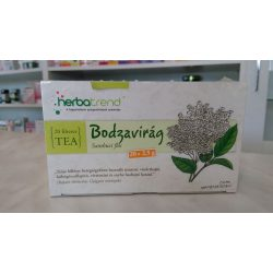 HerbaTrend Bodzavirág filteres 20 db