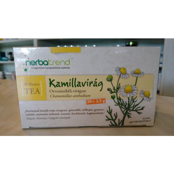 HerbaTrend Kamillavirág filteres 20 db
