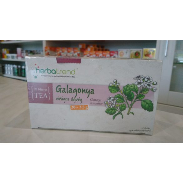 HerbaTrend Galagonya virágos ágvég filteres 20 db