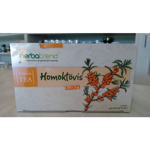 HerbaTrend Homoktövis filteres 20 db