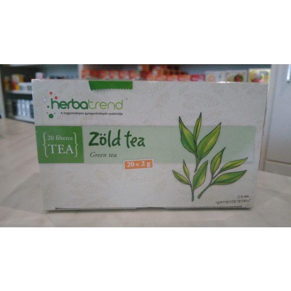 HerbaTrend Zöld tea filteres 20 db