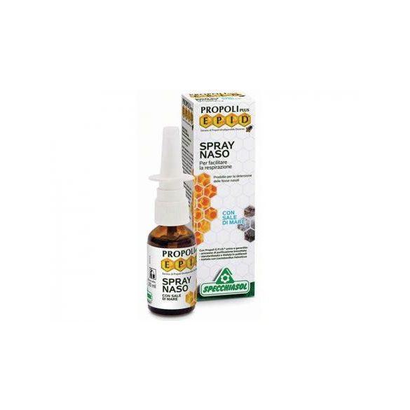 Specchiasol® Tengeri sós és propoliszos orrspray 20ml - EPID® szabadalommal védett, teljes propoliszt tartalmaz!