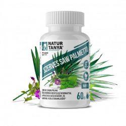 Natur Tanya® Szerves Saw Palmetto - Férfiegészség; prosztata, libidó, kopaszodás 60x