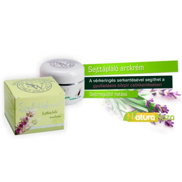 Sigfrid-WasserSejttápláló arckrém 3 x 50 ml (3 tégely) - MEGÚJULT - Sigfris Essence Healthy and Bright – Face Cream