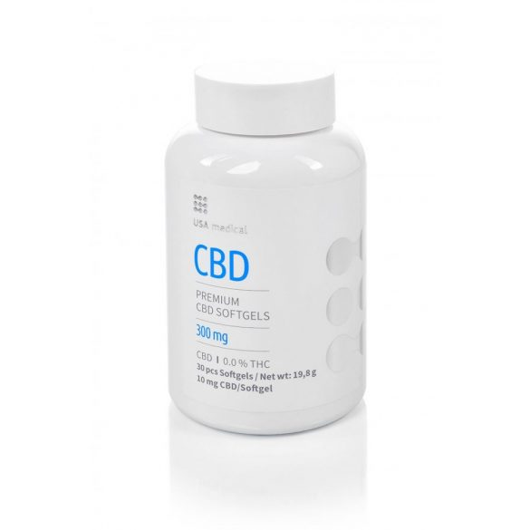 USA Medical 300mg CBD kapszula - 30 db