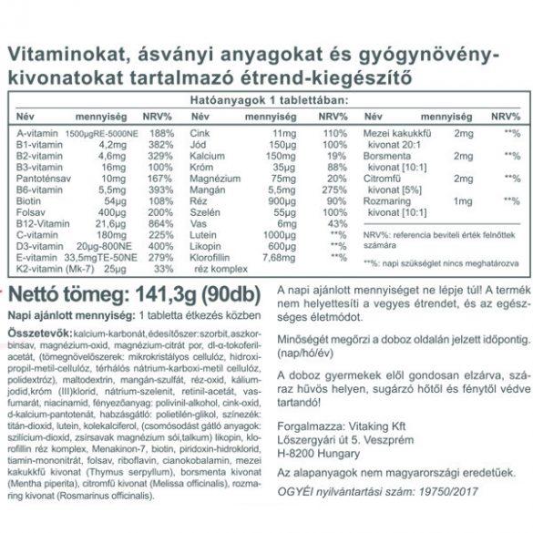 Vitaking Daily One multivitamin 90x