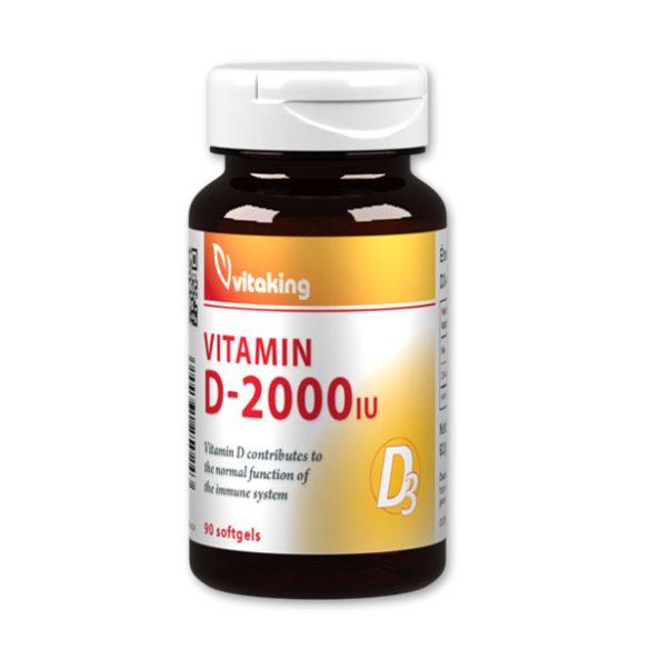 Vitaking D3 vitamin 2000NE 90x
