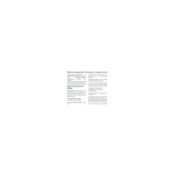 Vitaking Máriatövis mag kapszula 500mg 90x